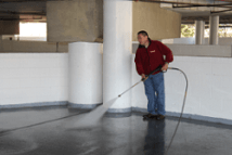 Pressure Washing DC Garage